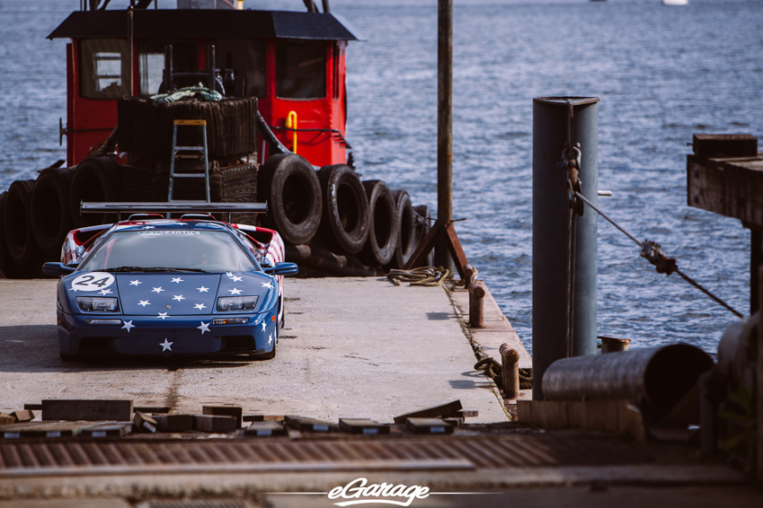 eGarage Lamborghini Diablo SVR Seattle Barge