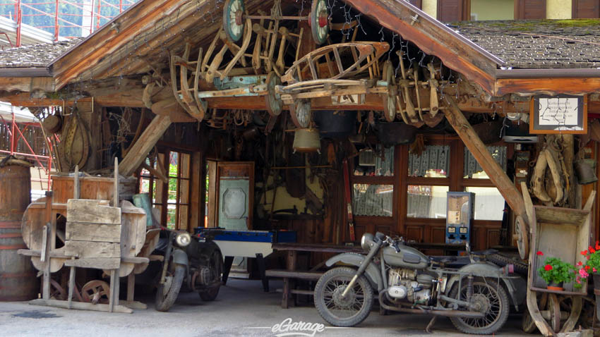 Alpine Adventure biker cafe