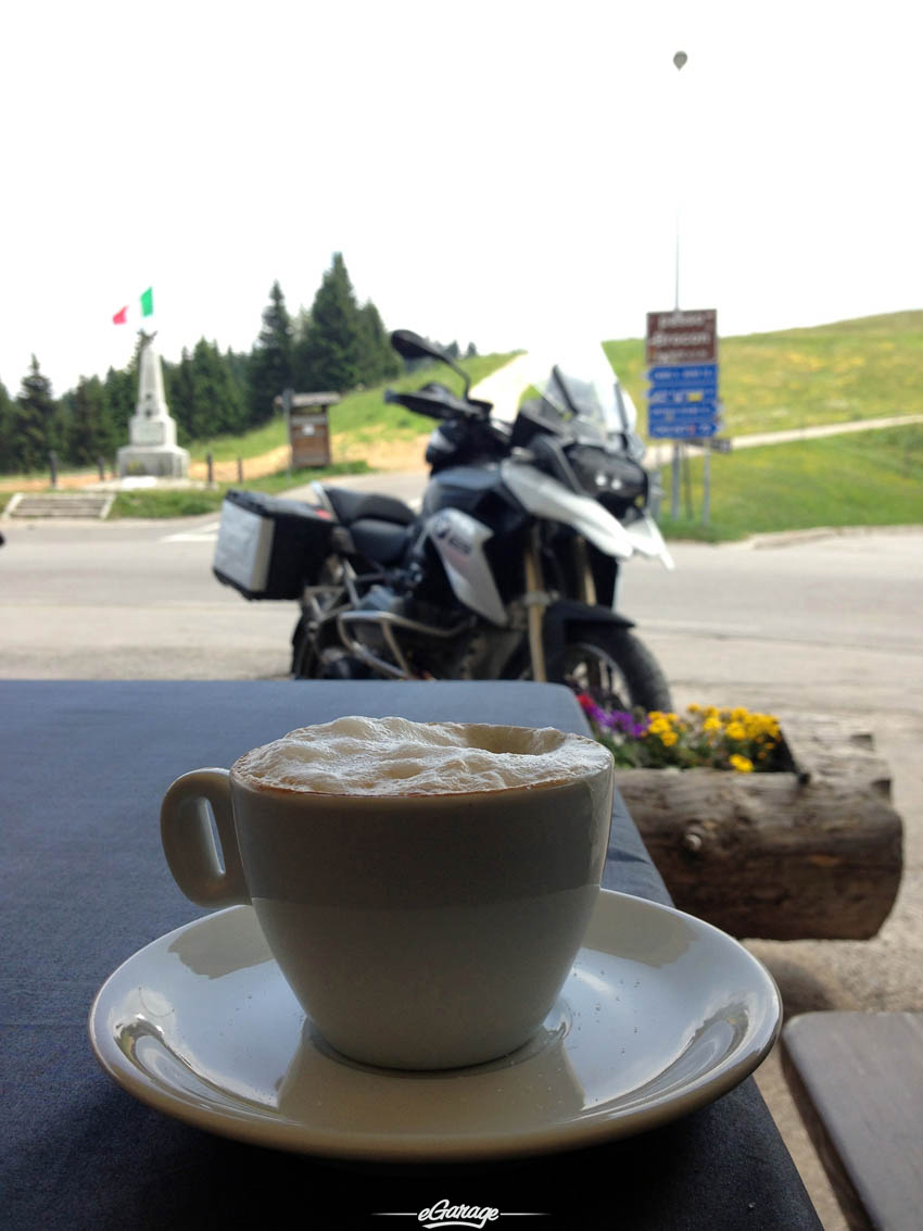 Alpine Adventure cappucino