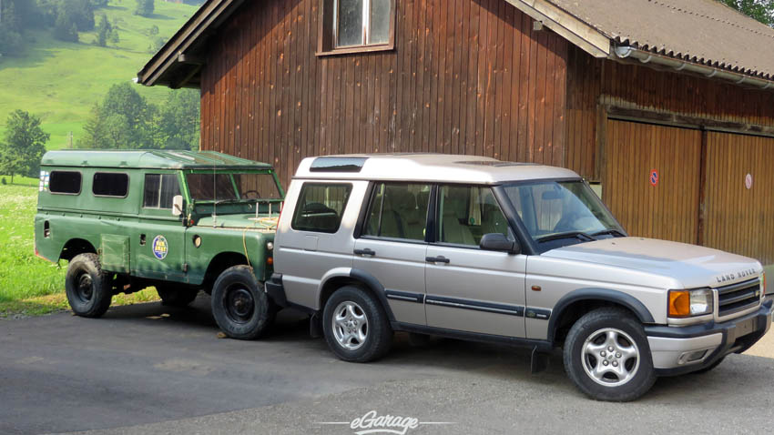 Alpine Adventure Land Rovers