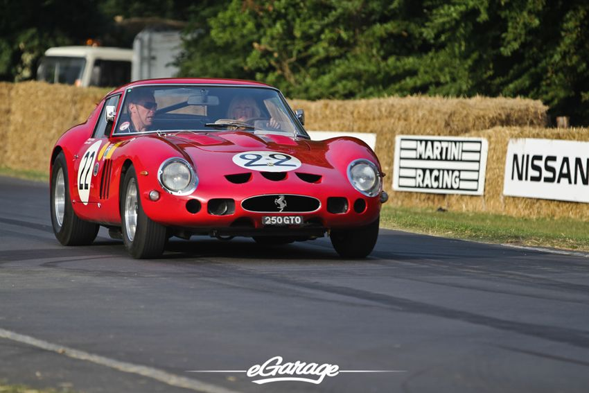 Ferrari 250 GTO goodwood FoS 2013