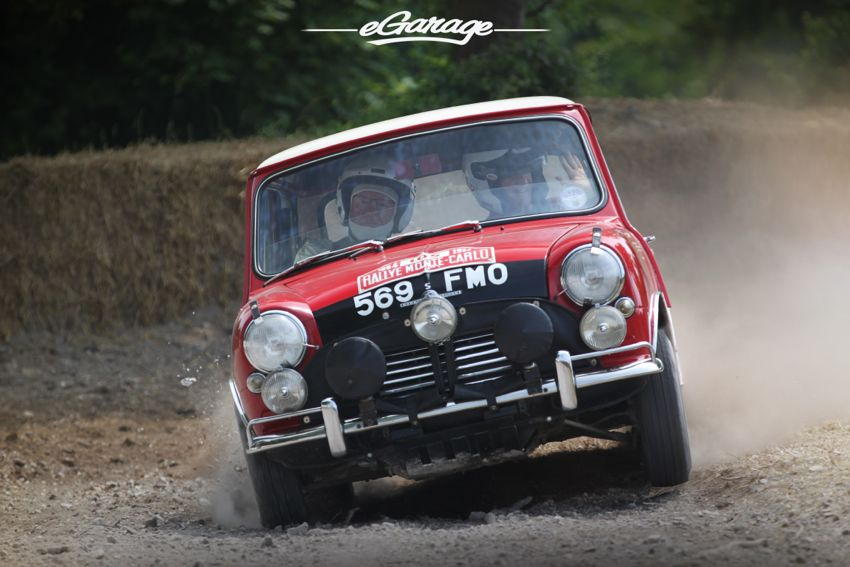 Forest Rally cooper Goodwood FoS