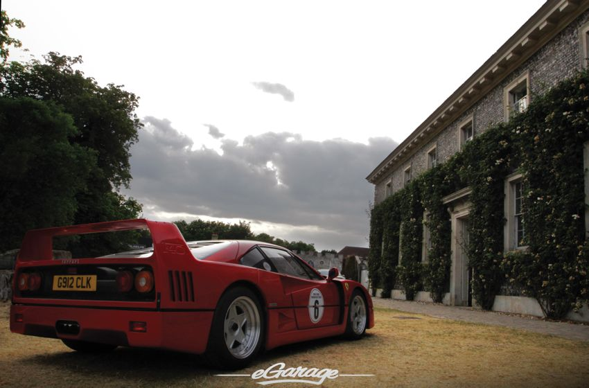 Goodwood 2013 Fos Ferrari F40