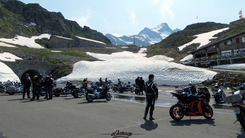 Alpine Adventure Biker hangout