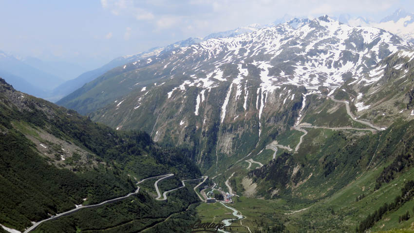 Alpine Adventure Pass Roads