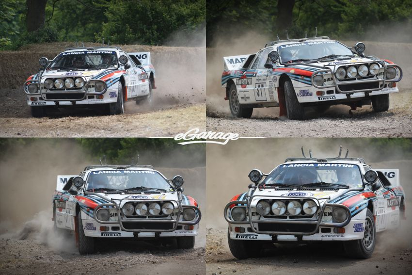 Lancia Martini Goodwood FoS 2013