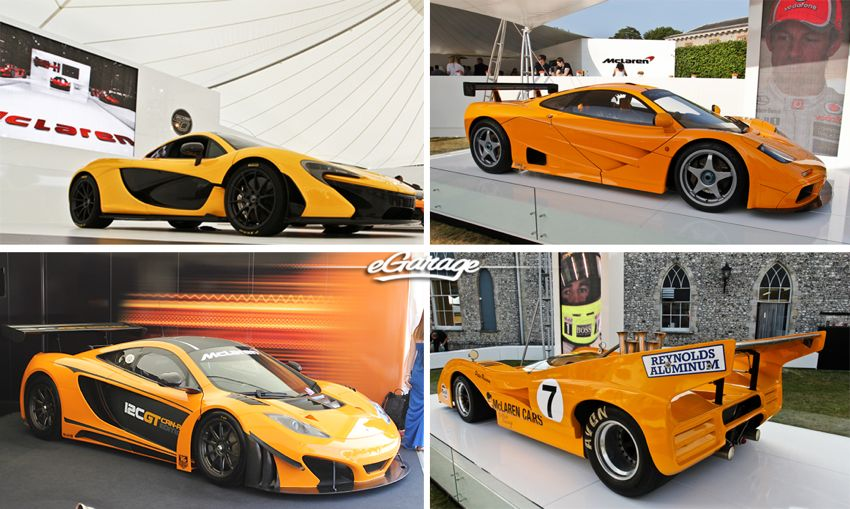 McLaren at 2013 Goodwood