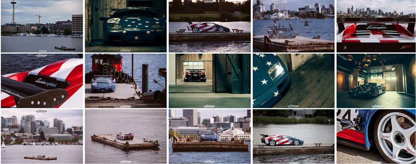 eGarage Lamborghini Diablo SVR Lake Union Seattle Photos