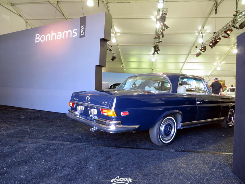 Bonhams Quail Lodge Auction Mercedes