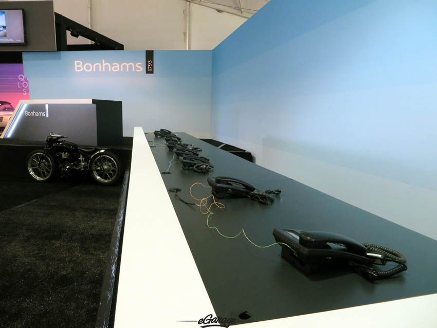 Bonhams Quail Lodge Auction phones