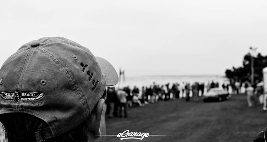 Black and White Pebble Beach Concours 2013
