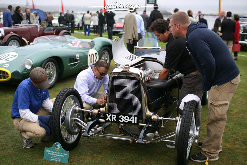 Last Minute Fixes at Pebble Beach Concours 2013