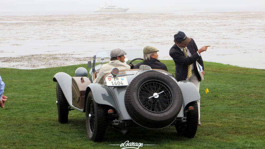 Directions at Pebble Beach Concours 2013