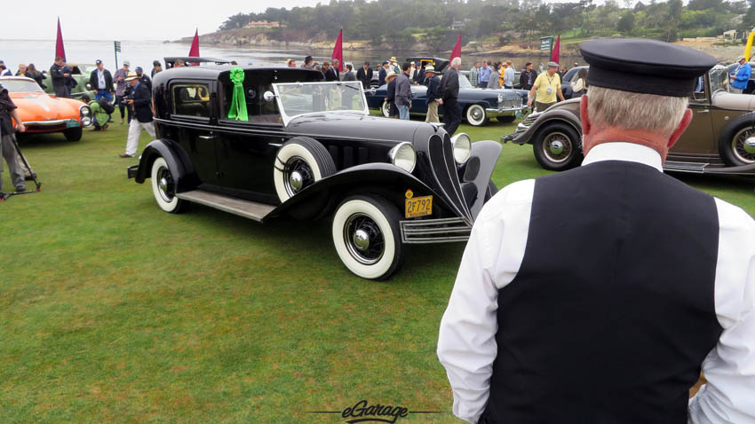 The Driver at Pebble Beach Concours 2013