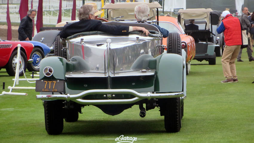 Stainless Boattail at Pebble Beach Concours 2013