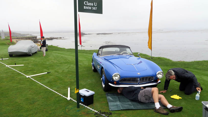 BMW 507 Pebble Beach Concours 2013