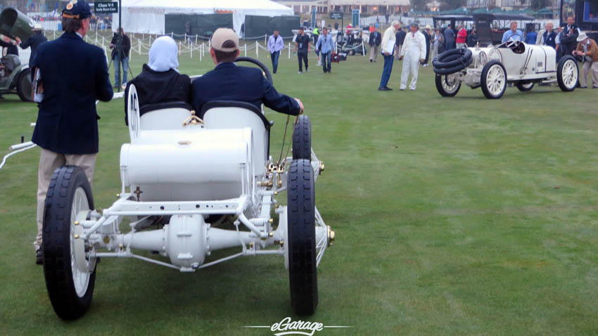 Parking at Pebble Beach Concours 2013