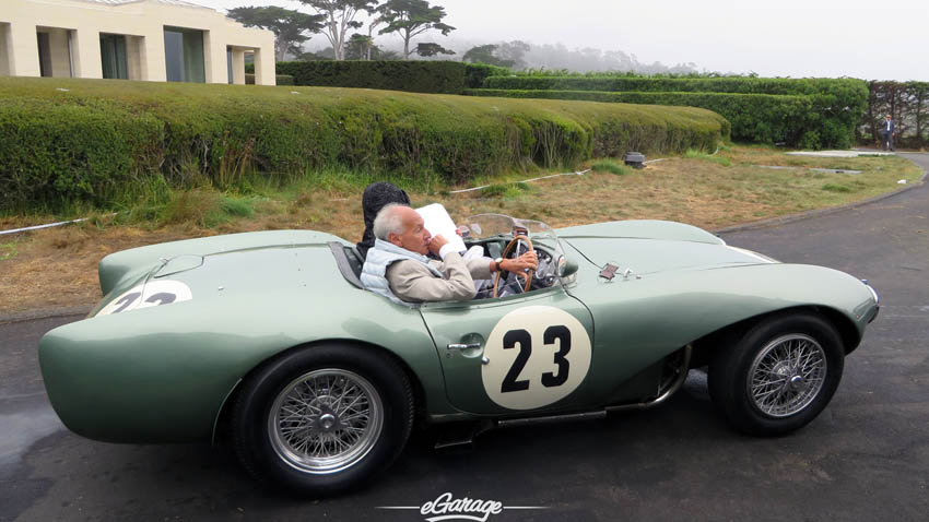 Aston Martin #23 at Pebble Beach Concours 2013