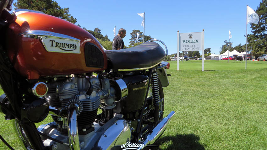 Triumph at The Quail 2013 - A Motorsports Gathering