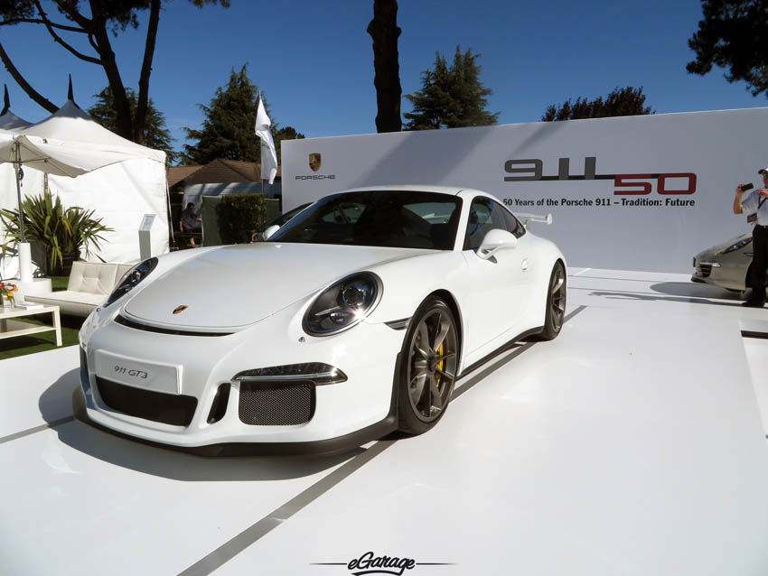 Porsche GT3 at The Quail 2013 - A Motorsports Gathering