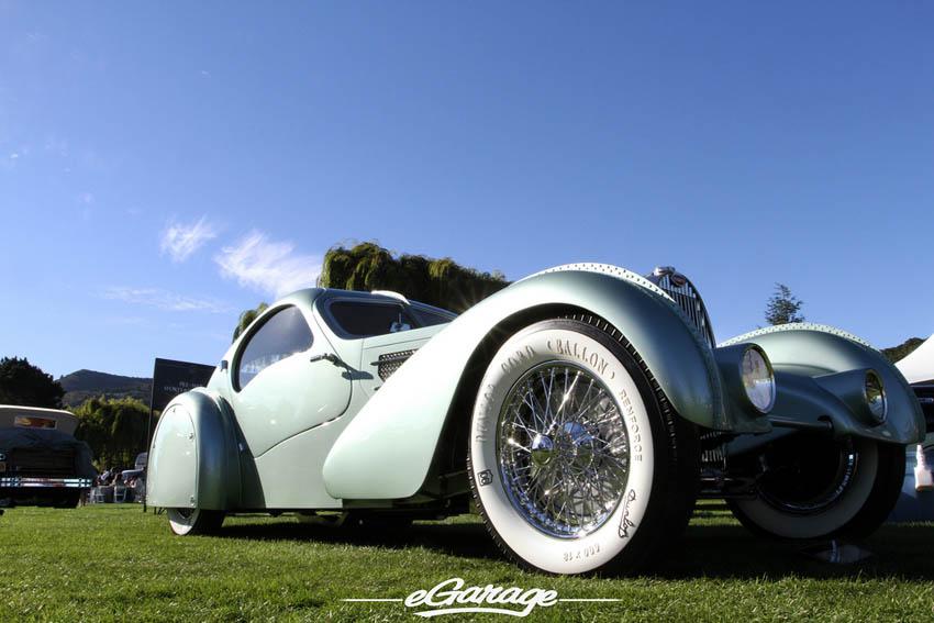 Bugatti Type 57 at The Quail 2013