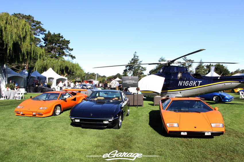 Lamborghini 50th Anniversary at The Quail 2013