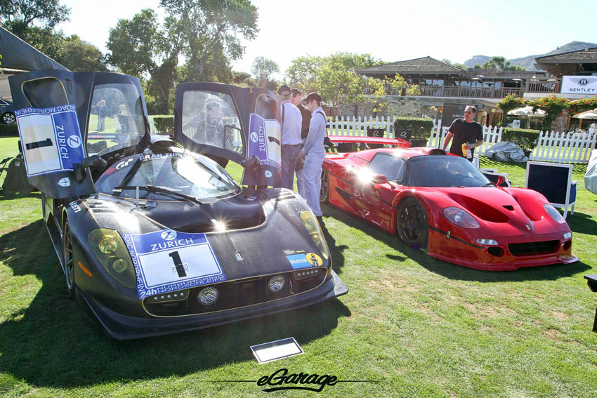 Ferrari F50 and P4/5 Competizione at The Quail 2013