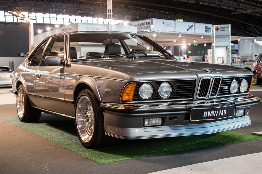 1983 IAA Motor Show BMW M6
