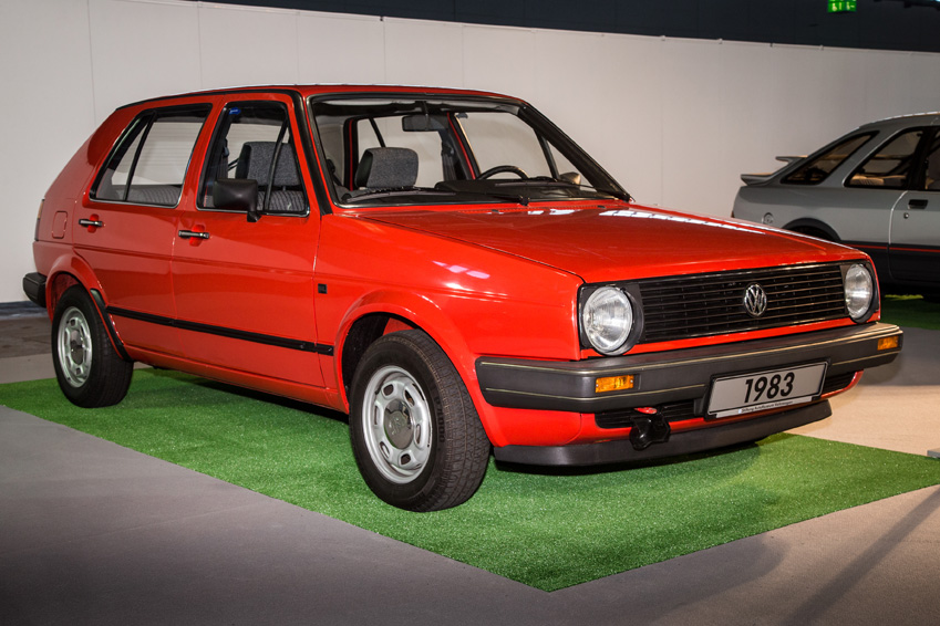 1983 IAA Motor Show VW Golf 2