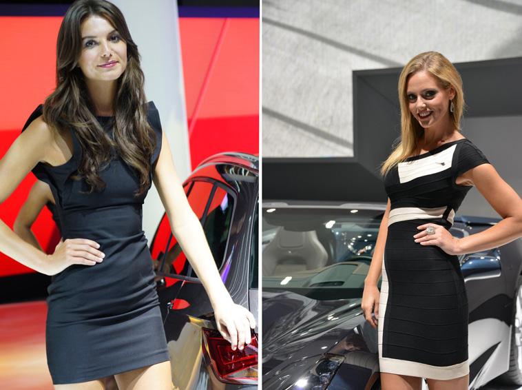 girls 2013 IAA Frankfurt Motor Show