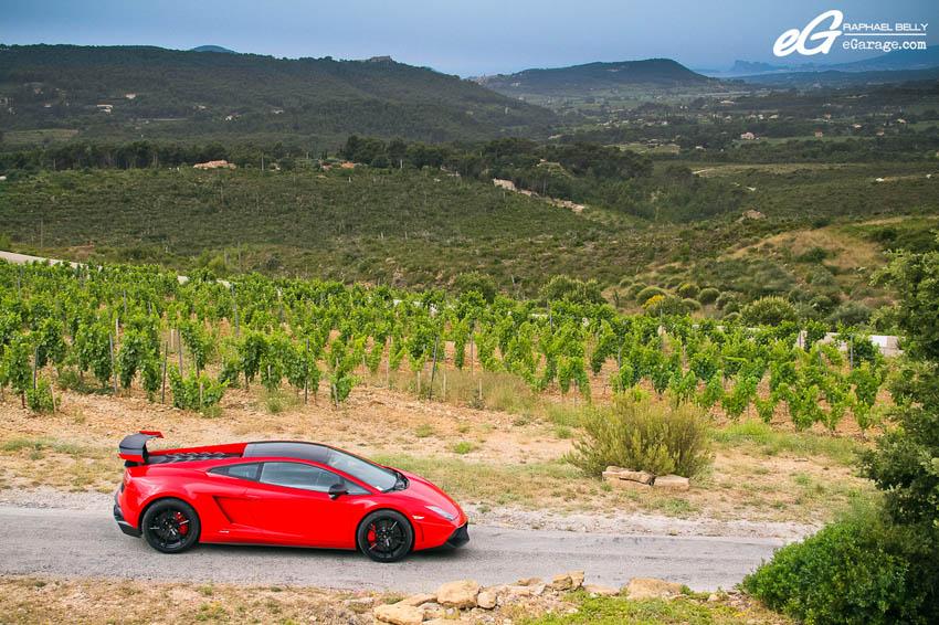 Les Dix Mille Tours Lamborghini