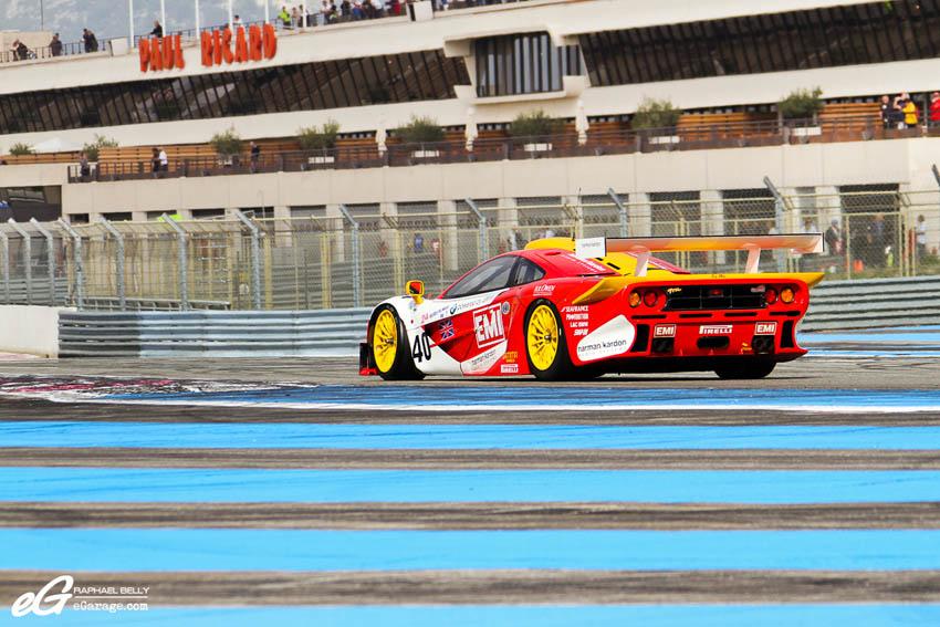 Les Dix Mille Tours McLaren F1 GTR EMI