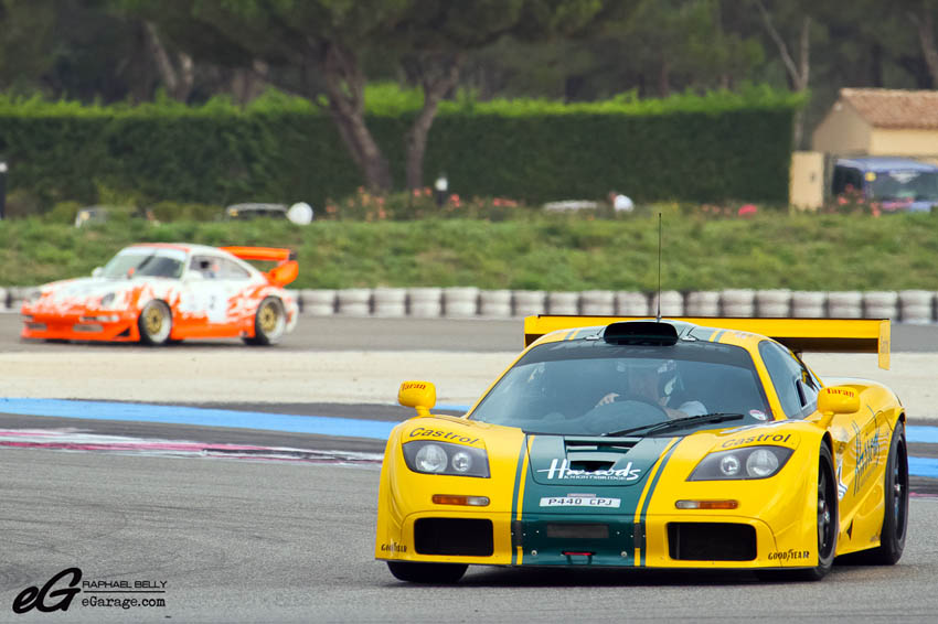 Les Dix Mille Tours McLaren F1 GTR Harrods