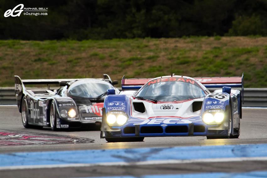 Les Dix Mille Tours Group C Nissan R90 CK