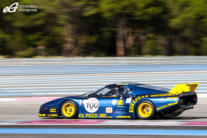 Les Dix Mille Tours Ferrari 512BB LM