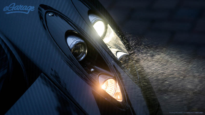 Pagani Huayra Headlight Mist