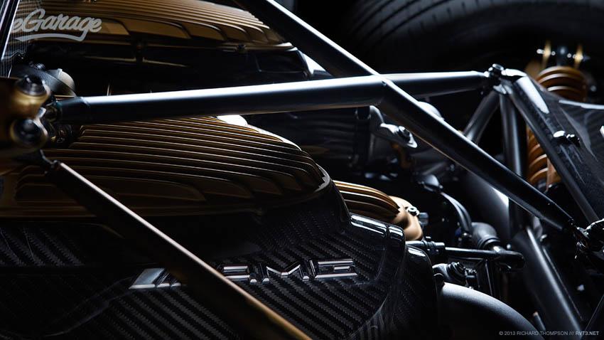 Pagani Huayra AMG engine