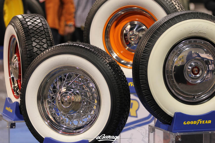 SEMA Show 2013 Whitewall Tires