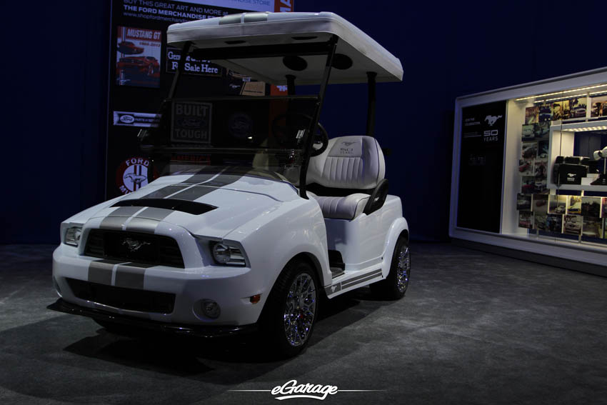 SEMA Show 2013 Shelby Golf Cart