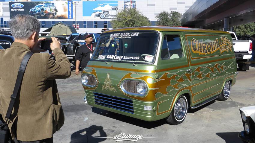 SEMA Show 2013 Street Van