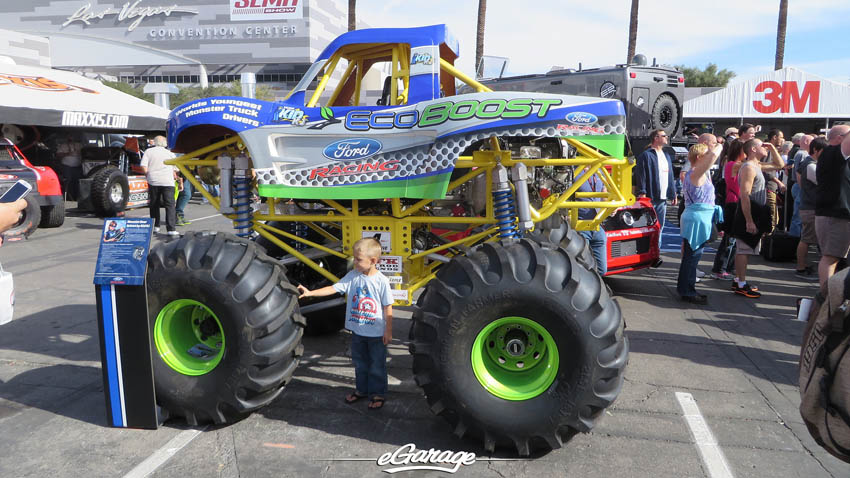 SEMA Show 2013 Mini Monster Truck