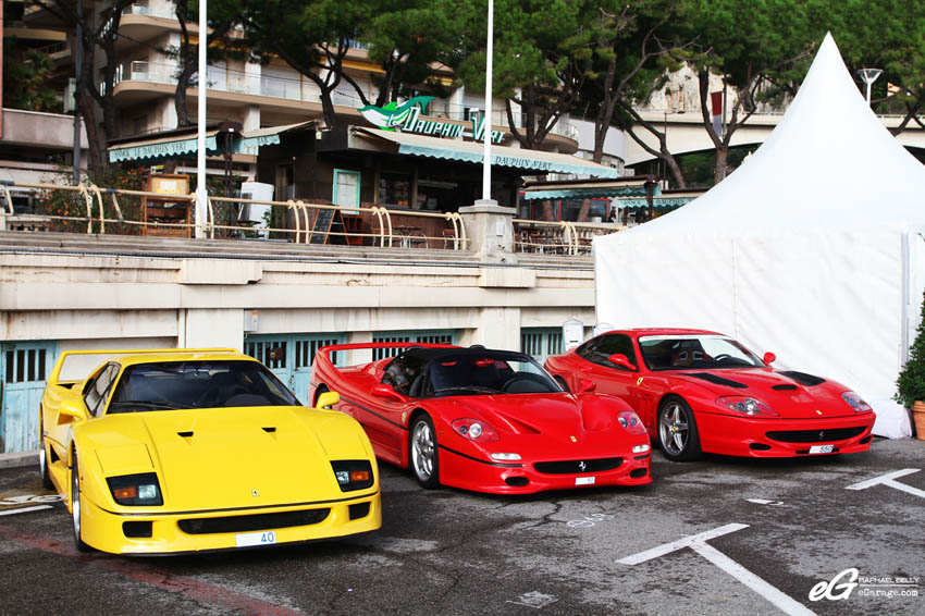 2013 Monaco Telethon Ferraris