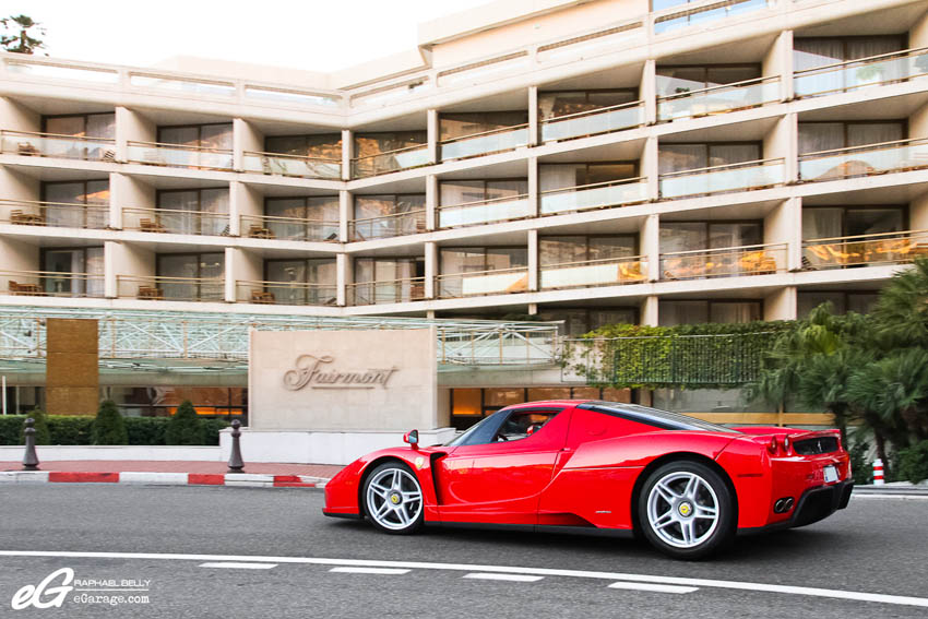 2013 Monaco Telethon Ferrari Enzo