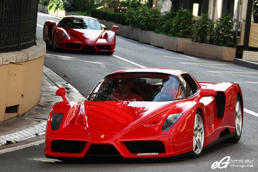 2013 Monaco Telethon Double Ferrari Enzo