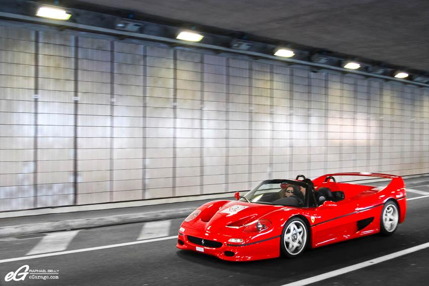 2013 Monaco Telethon Ferrari F50 Tunnel