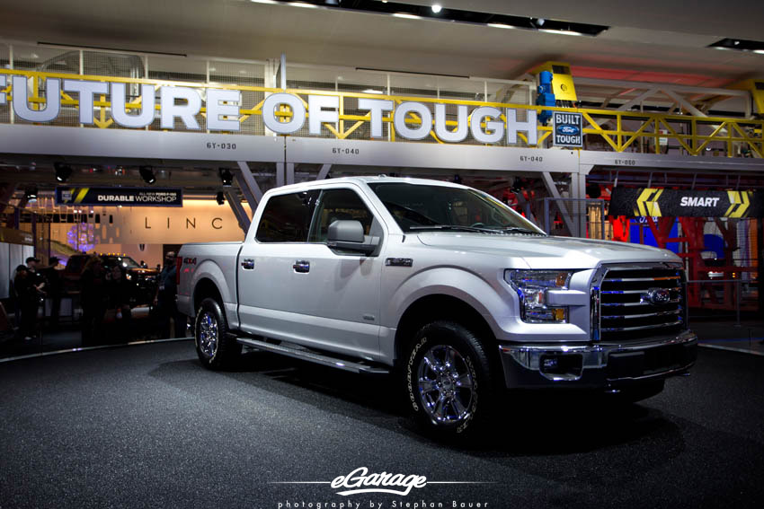 2014 NAIAS Ford F150