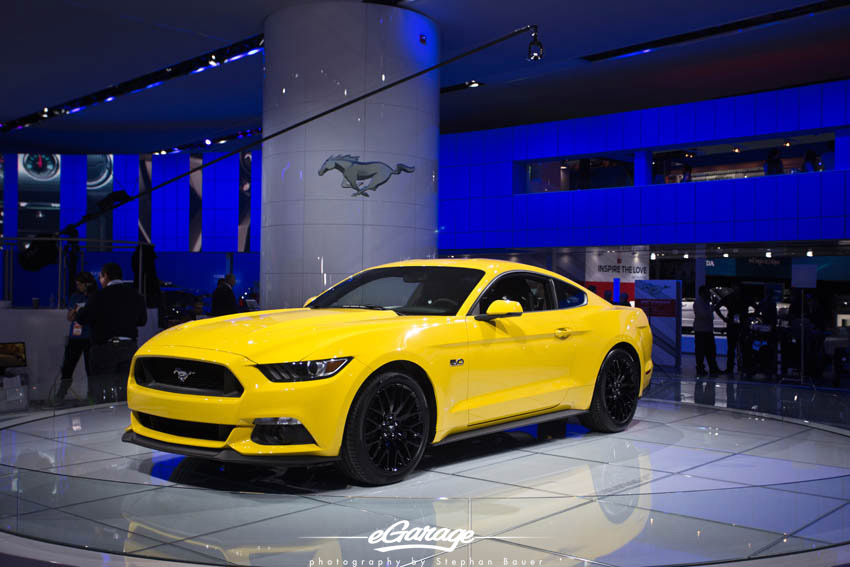 2014 NAIAS Ford Mustang