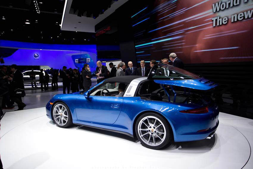 2014 NAIAS Porsche Targa