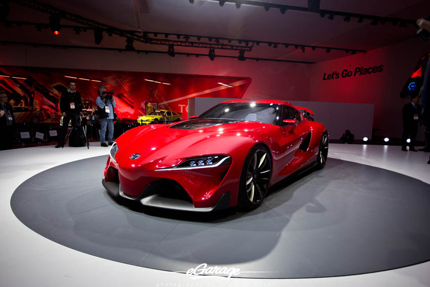 2014 NAIAS Toyota FT1
