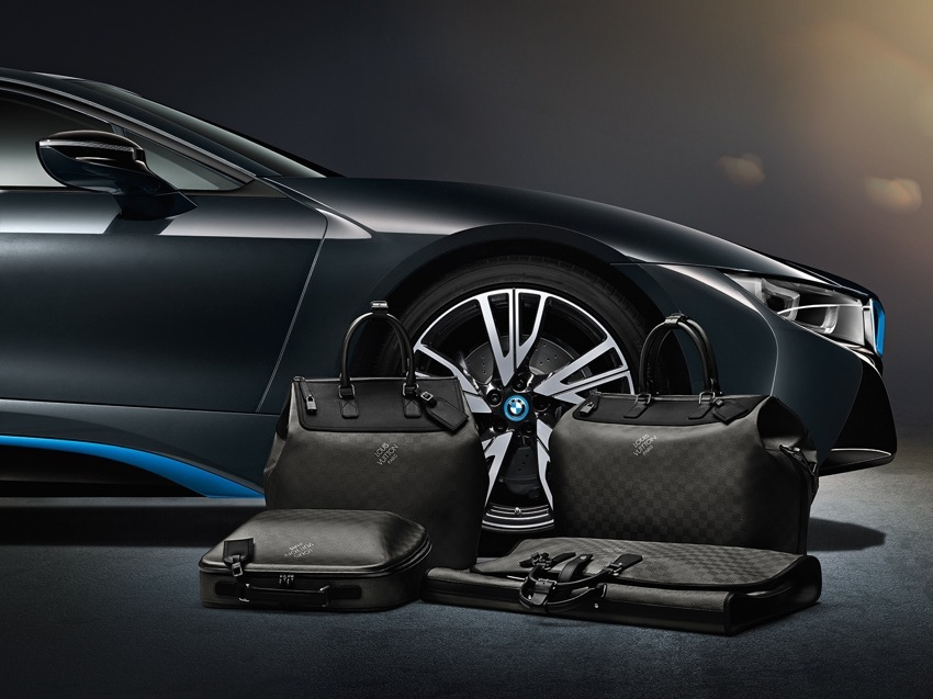 BMW I8 Louis Vuitton Luggage